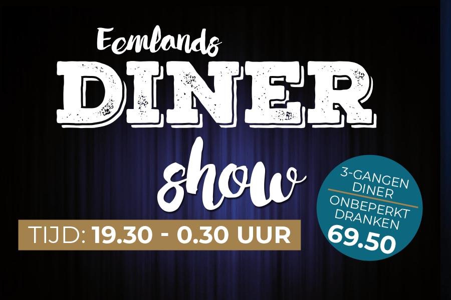 Eemlands Diner Show 15 juni 2019
