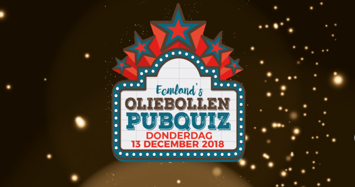 Oliebollenquiz, 13 december 2018 bij Grandcafé Eemland